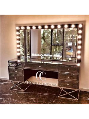 MakeUp Studio Makyaj Masası ve Ayna Takımı