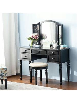 Klasik Makyaj Masası ve Ayna Takım