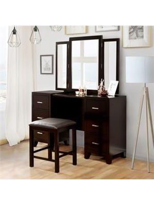 Modern Makyaj Masası ve Ayna Takım
