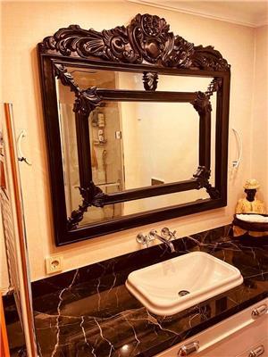 Ahşap Oyma Ayna