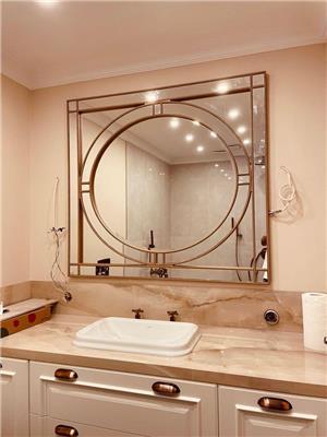 Özel Tasarım Boncuk Ayna